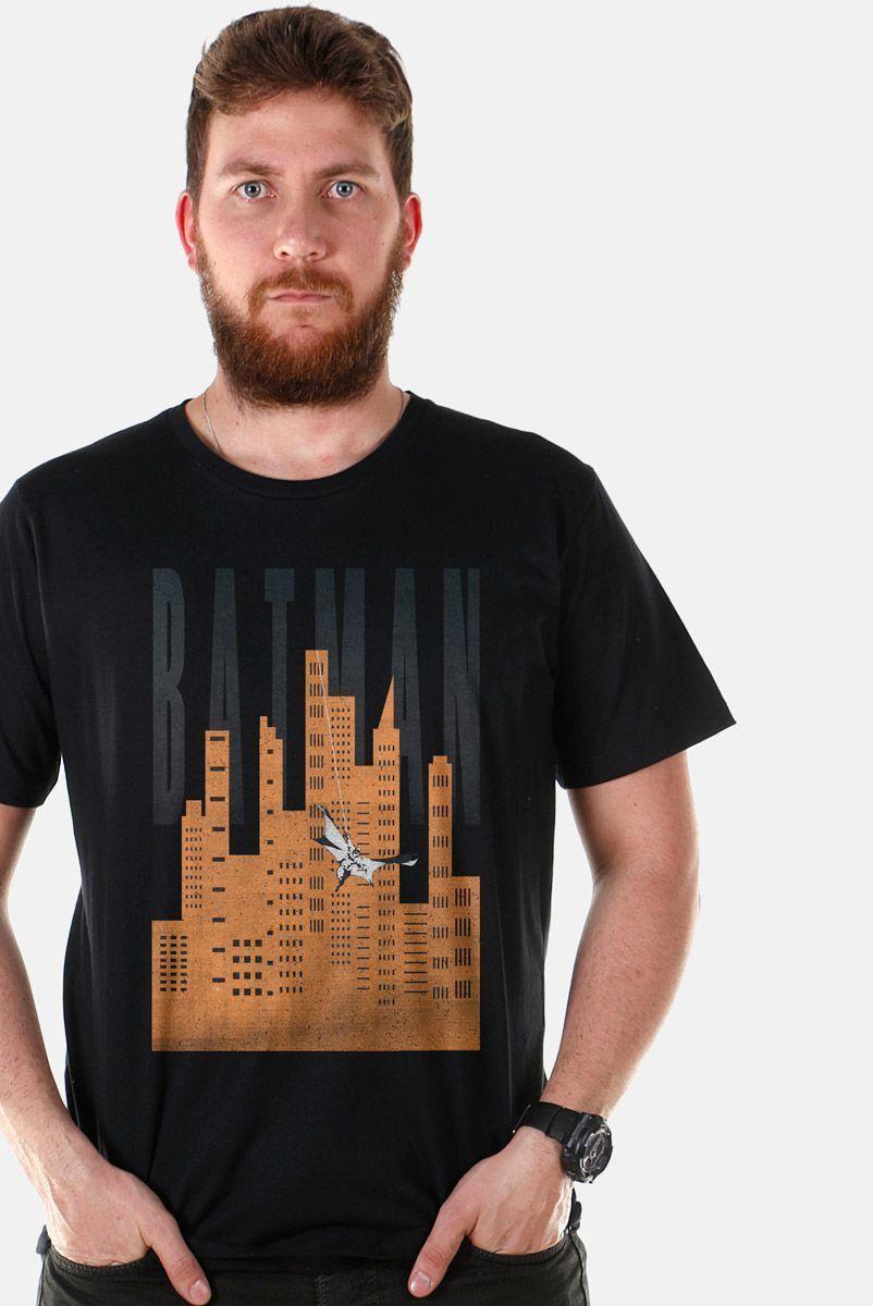 Camiseta Masculina Batman In Gotham City