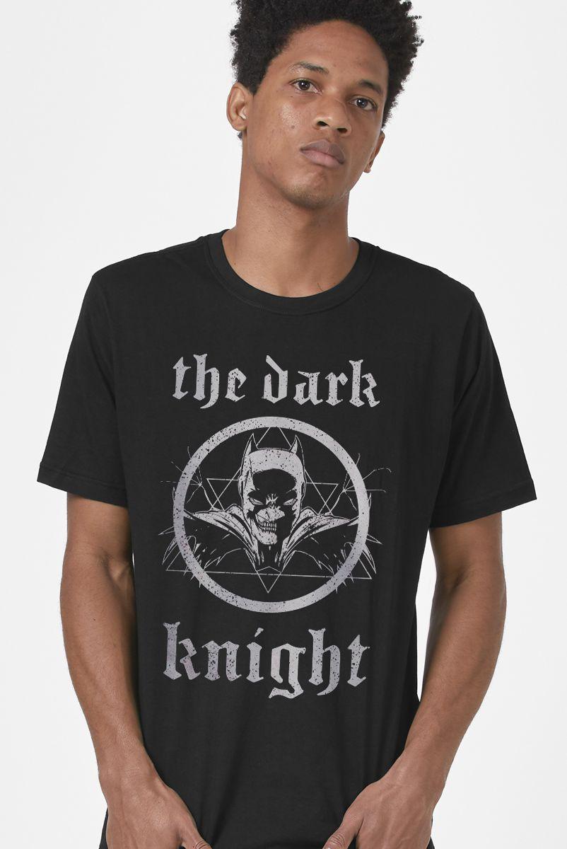 Camiseta Masculina Batman Metal