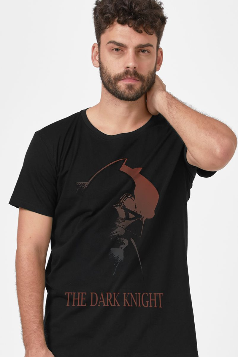 Camiseta Masculina Batman O Cavaleiro das Trevas
