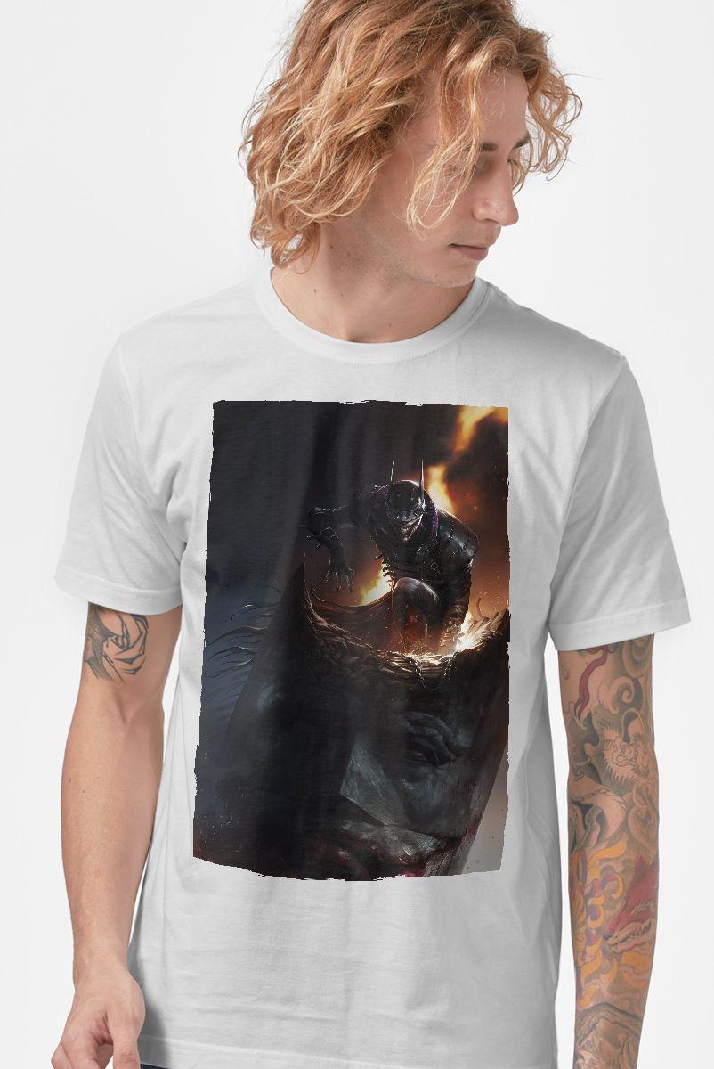Camiseta Masculina Batman Que Ri Aberração