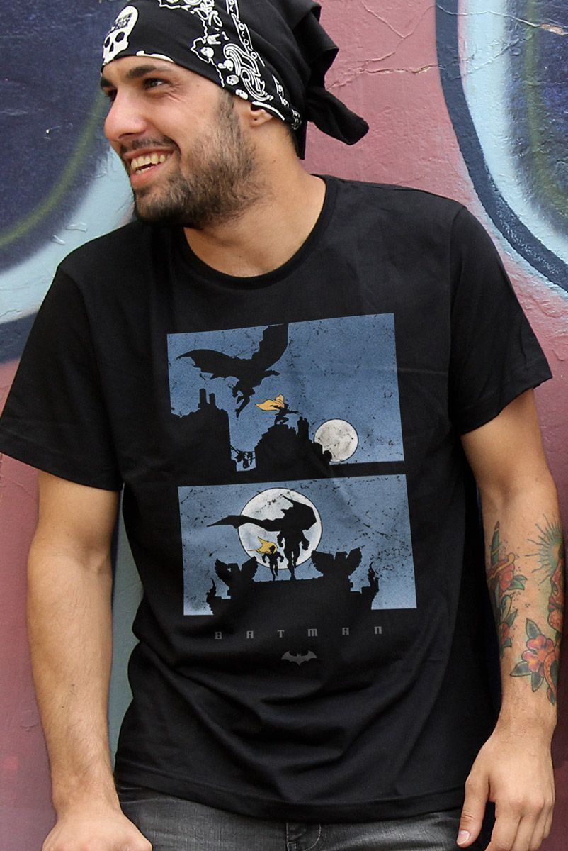 Camiseta Masculina Batman Shadow