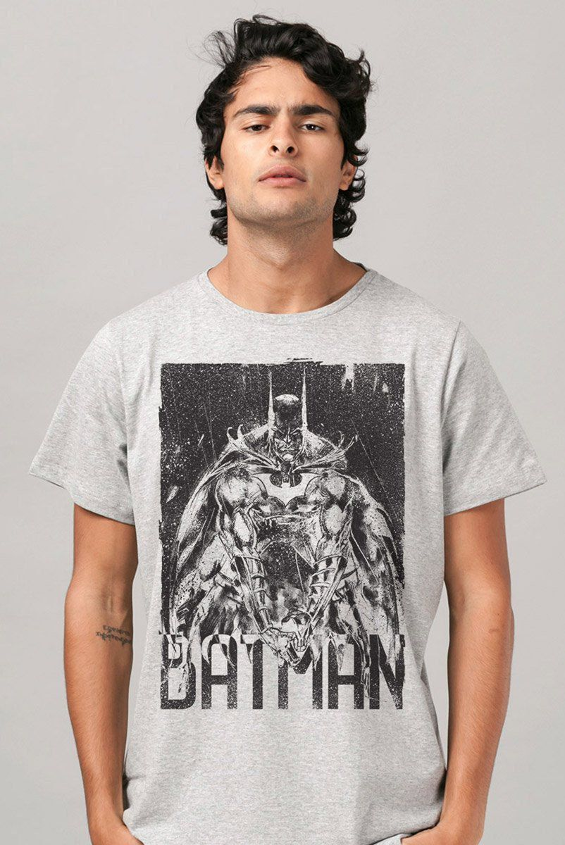 Camiseta Masculina Batman Sketch