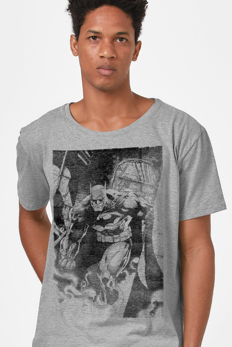 Camiseta Masculina Batman Tracing