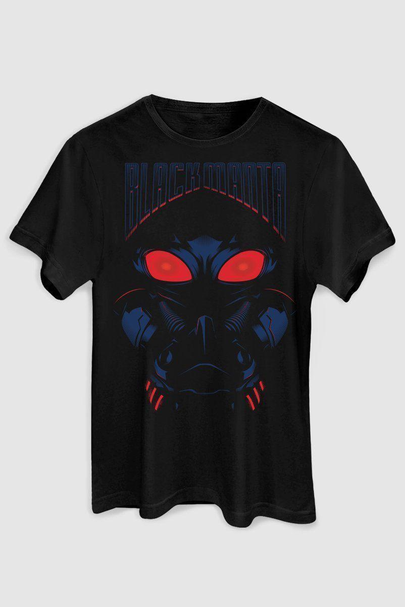 Camiseta Masculina Black Manta