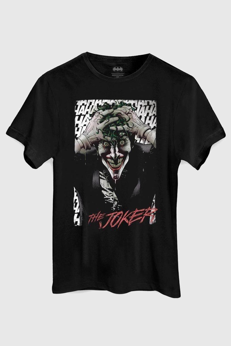 Camiseta Masculina Coringa A Piada Mortal Alan Moore Black