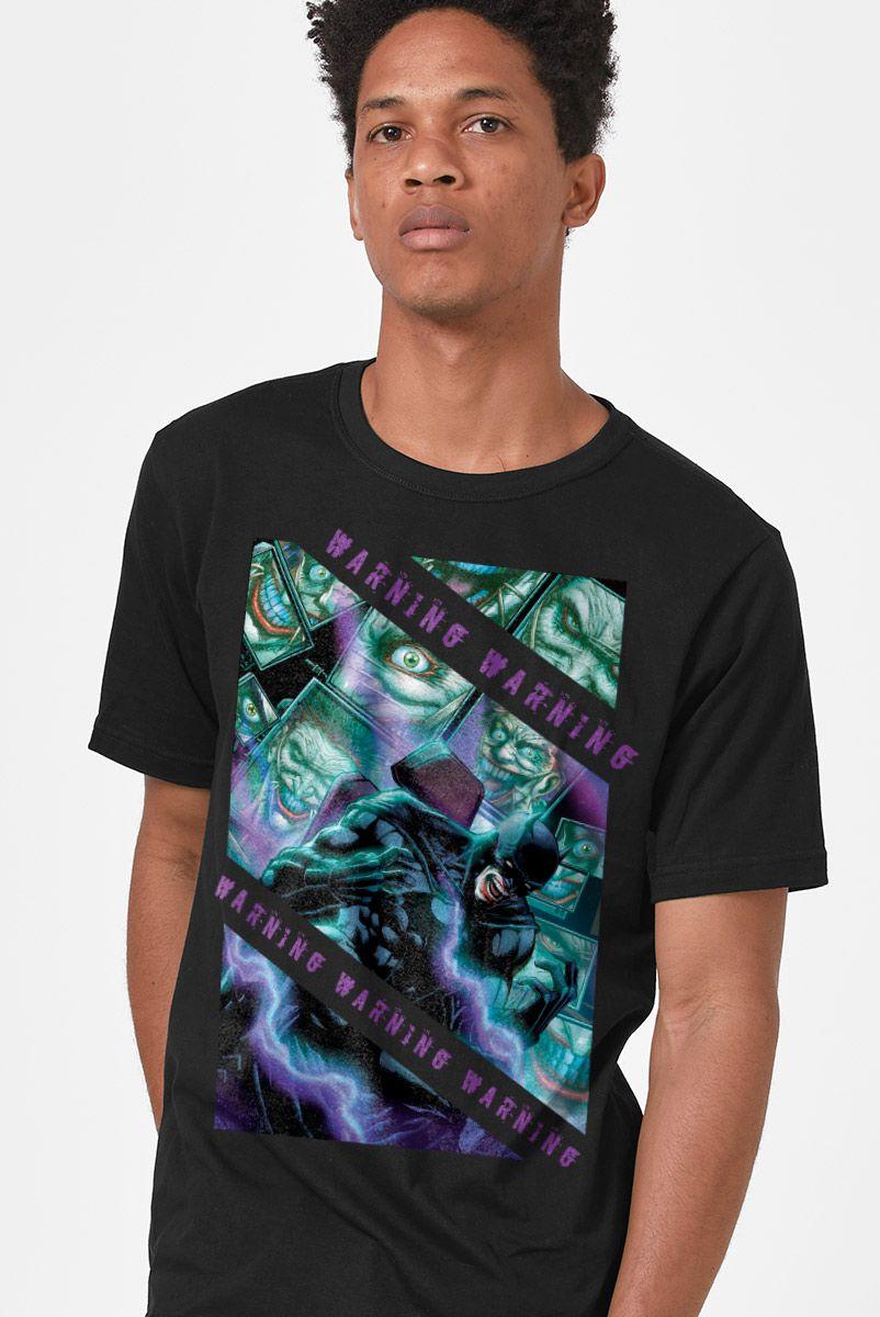 Camiseta Masculina Coringa Aviso