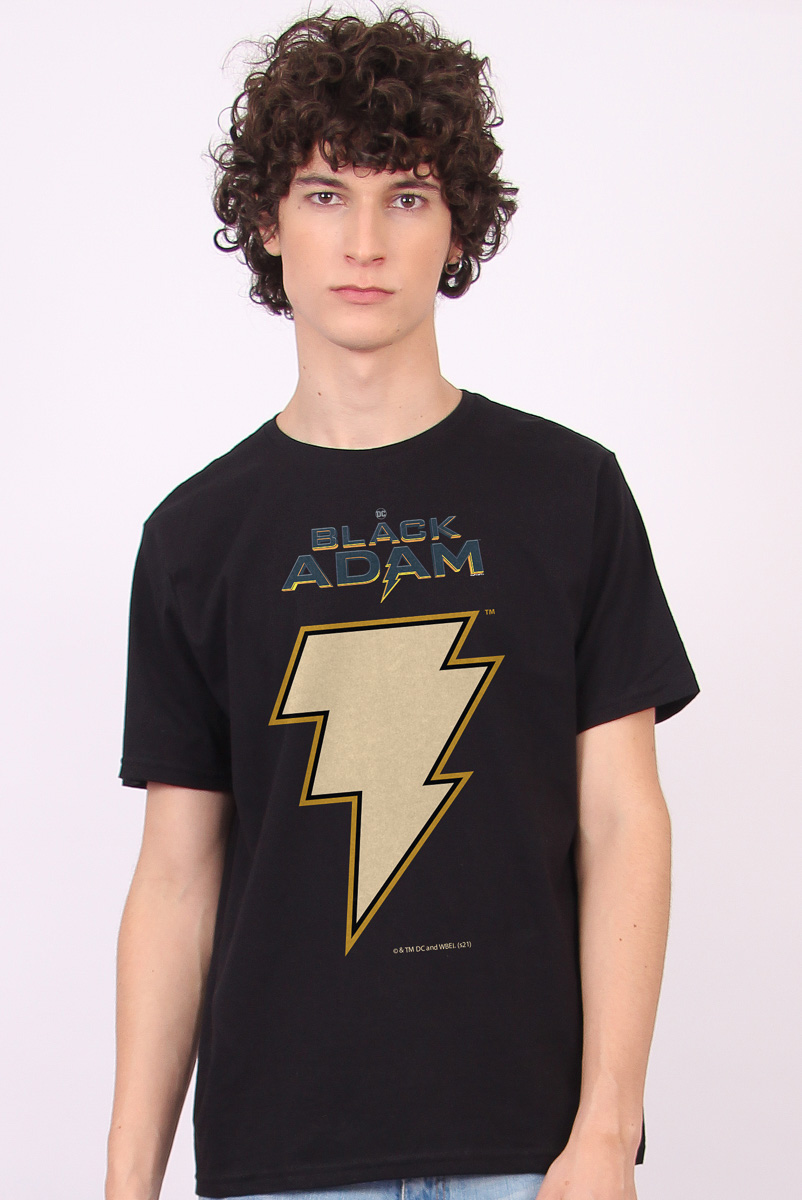 Camiseta Masculina FanDome 2021 Adão Negro