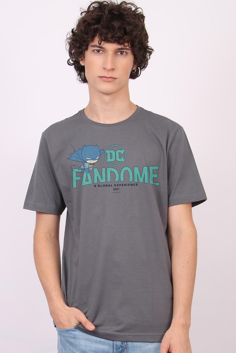 Camiseta Masculina FanDome 2021 Batman Chibi
