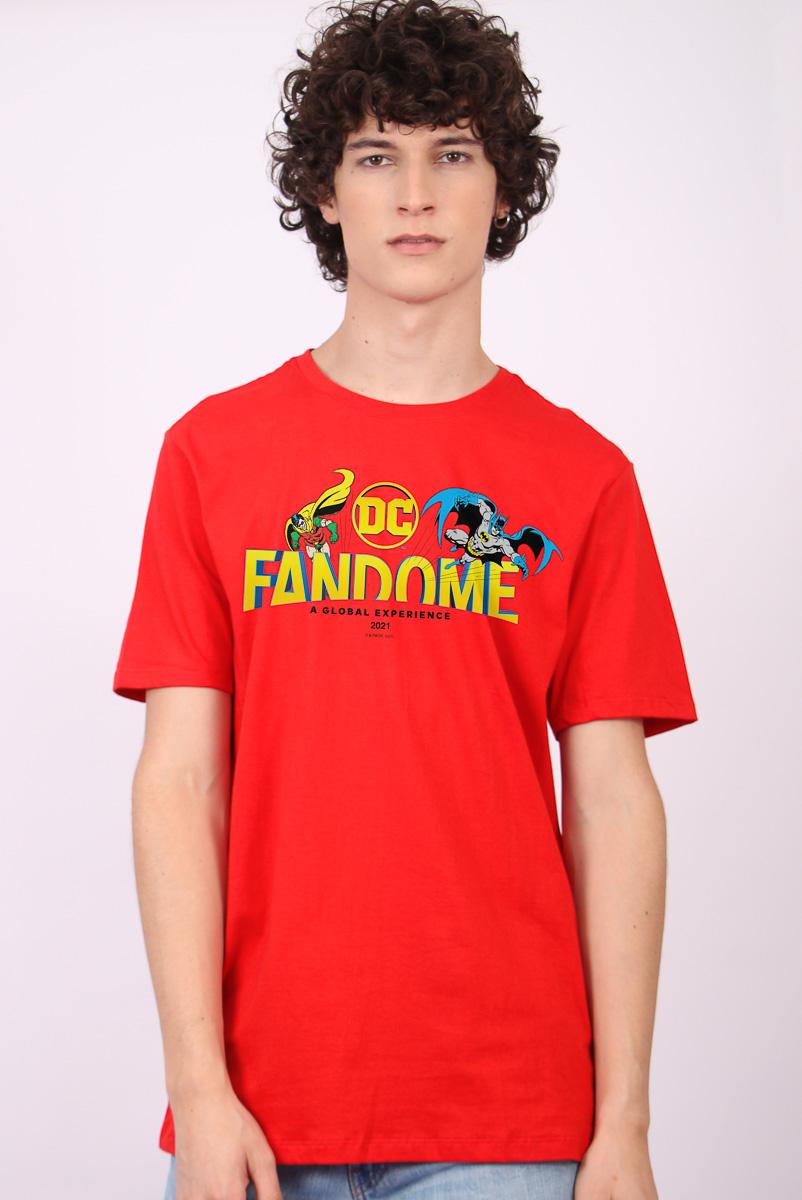 Camiseta Masculina FanDome 2021 Batman e Robin