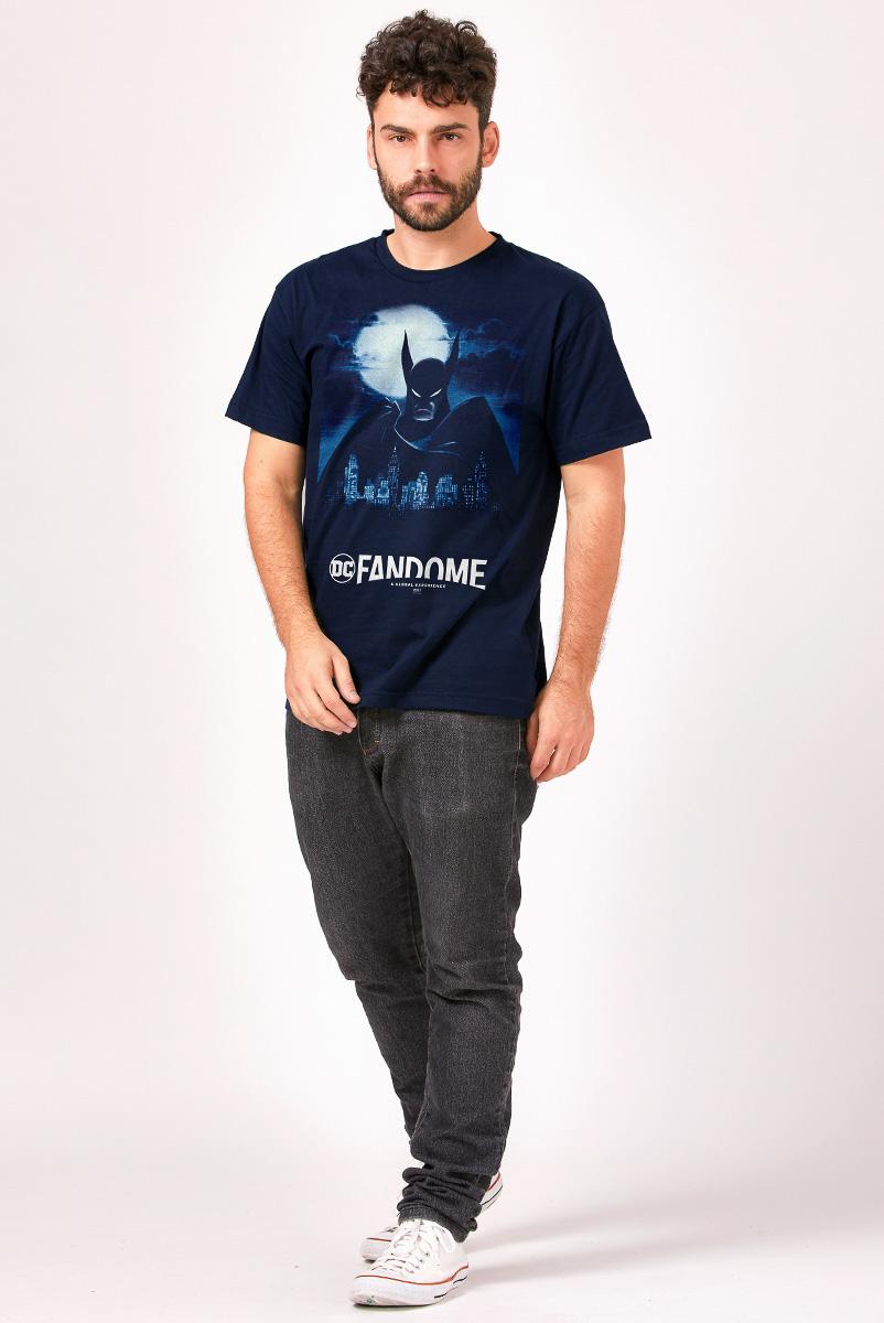 Camiseta Masculina FanDome 2021 Batman Gotham City