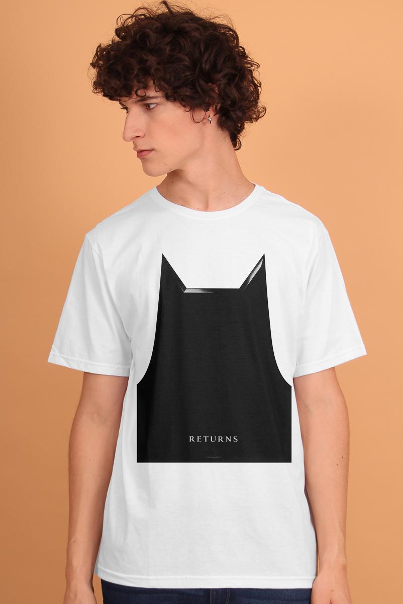 Camiseta Masculina FanDome 2021 Batman Mask