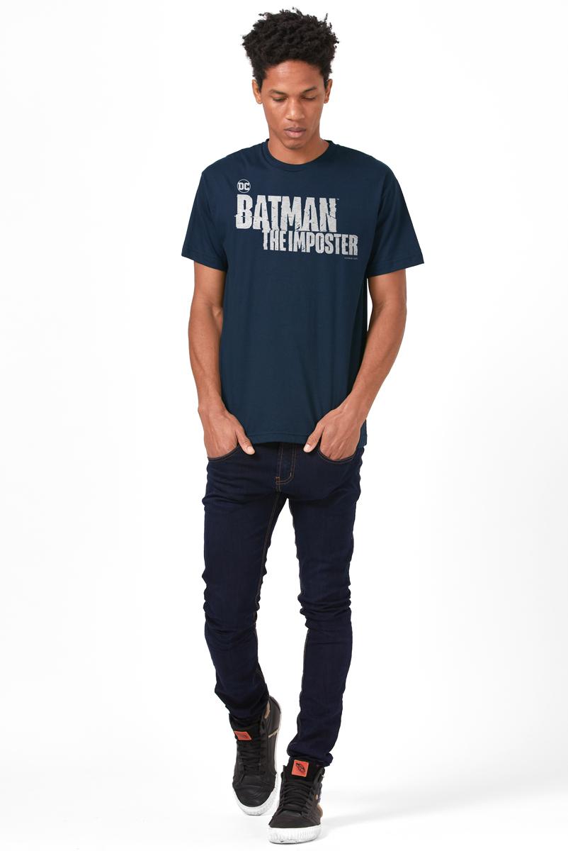 Camiseta Masculina FanDome 2021 Batman : O Impostor