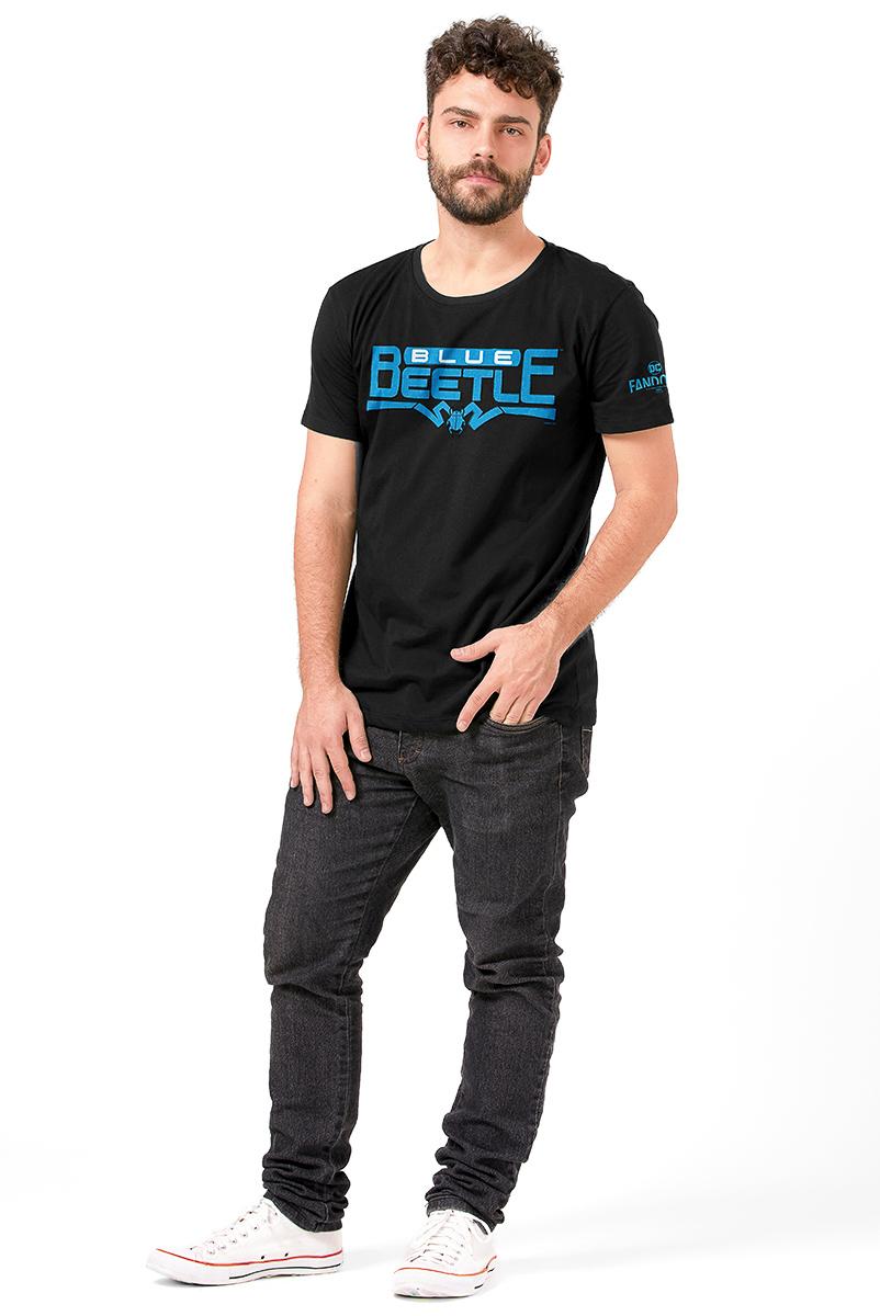 Camiseta Masculina FanDome 2021 Besouro Azul
