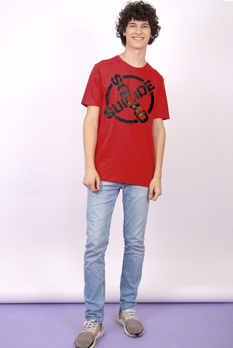 Camiseta Masculina FanDome 2021 Esquadrão Suicida