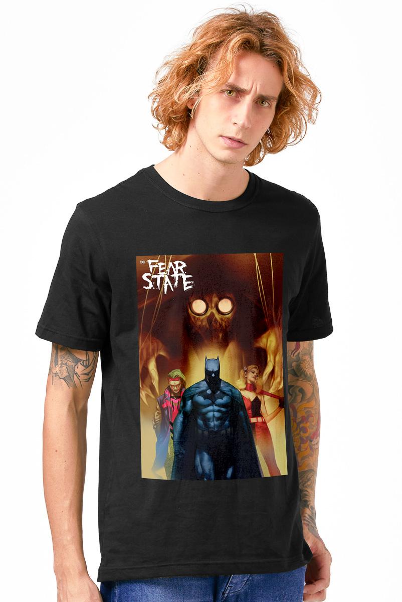 Camiseta Masculina FanDome 2021 Fear State Family