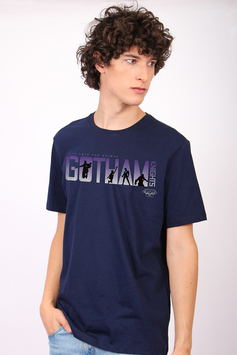 Camiseta Masculina FanDome 2021 Gotham Sombras