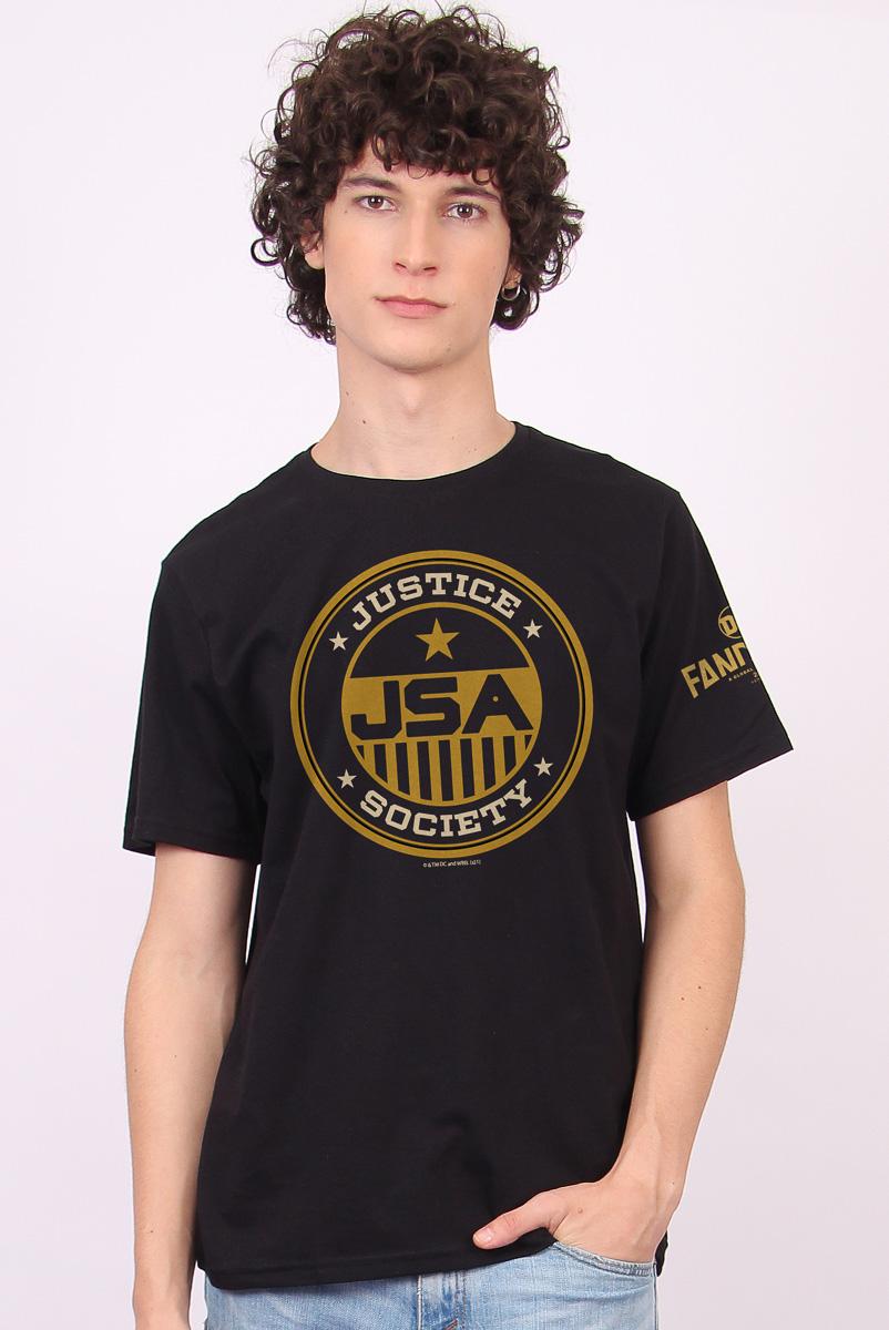 Camiseta Masculina FanDome 2021 Justice Society