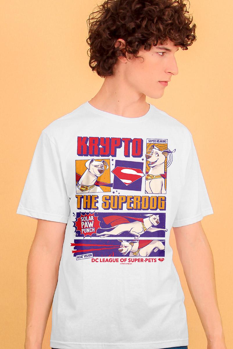 Camiseta Masculina FanDome 2021 Krypto