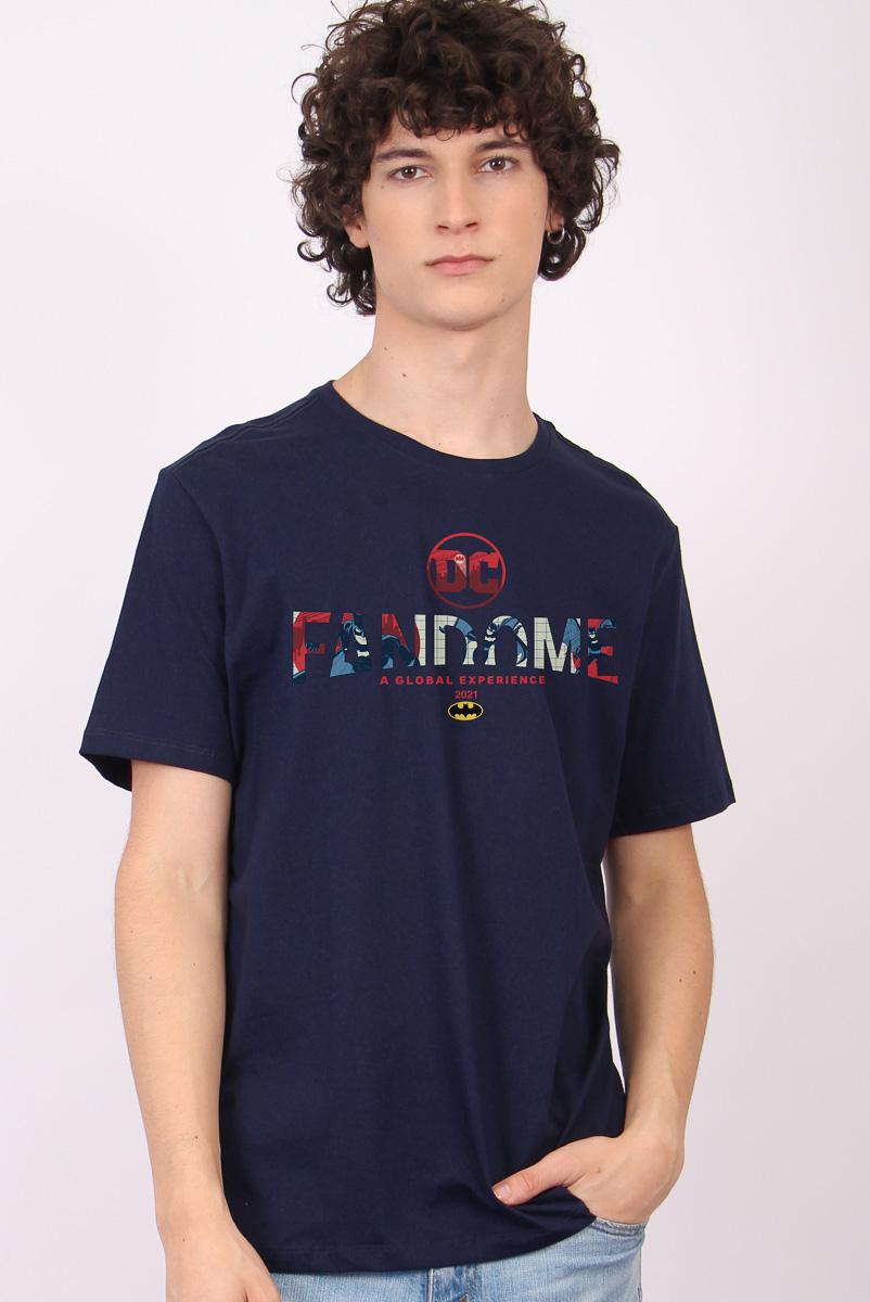 Camiseta Masculina FanDome 2021 Logo Batman