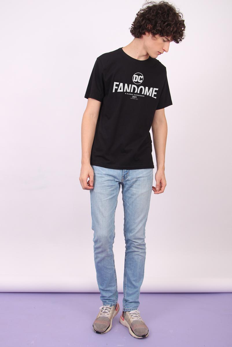 Camiseta Masculina FanDome 2021 Logo Oficial