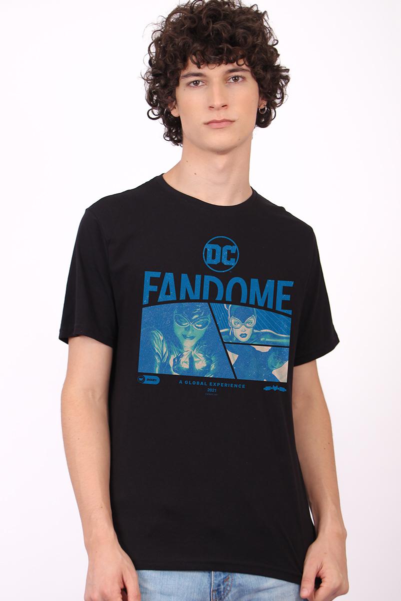 Camiseta Masculina FanDome 2021 Mulher-Gato Blue