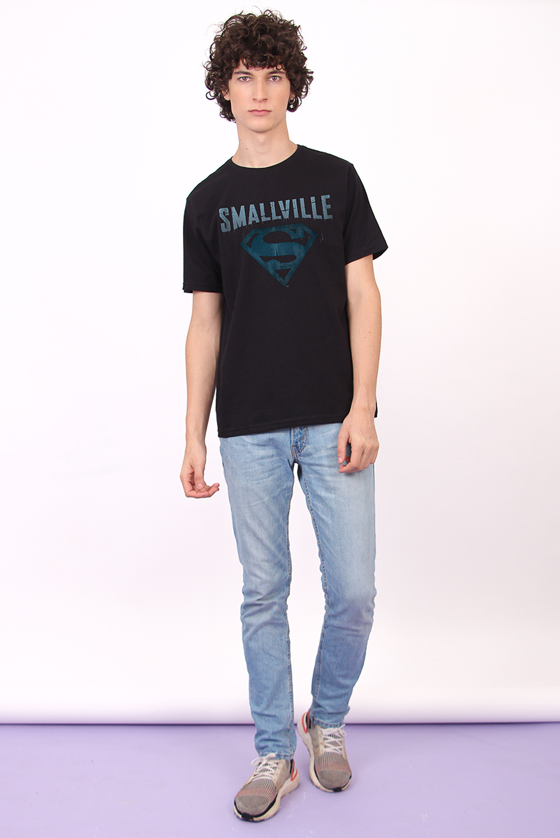 Camiseta Masculina FanDome 2021 Smallville Logo