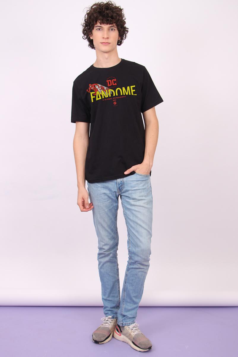 Camiseta Masculina FanDome 2021 The Flash