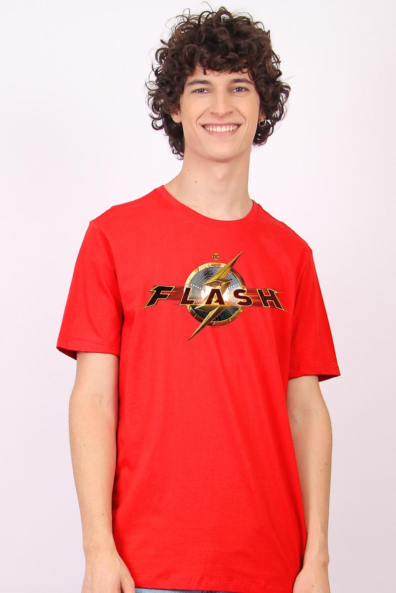 Camiseta Masculina FanDome 2021 The Flash Action