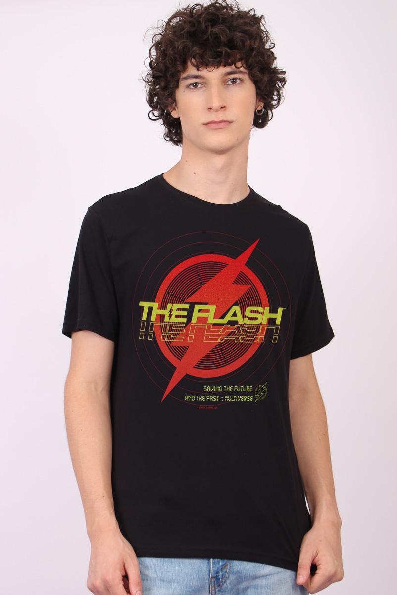Camiseta Masculina FanDome 2021 The Flash Multiverse