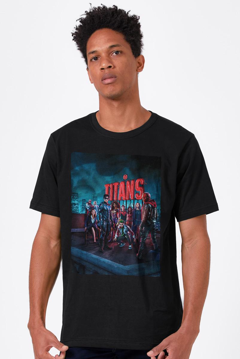 Camiseta Masculina FanDome 2021 Titans