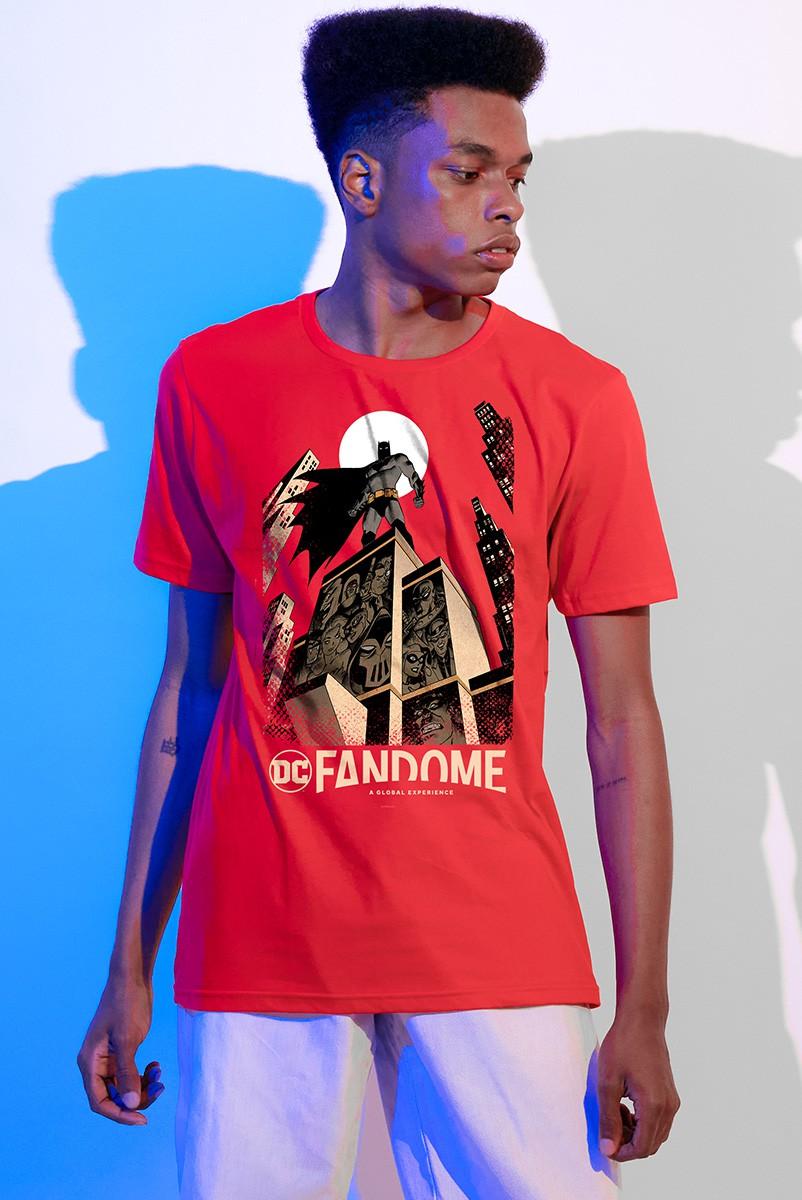 Camiseta Masculina Fandome Batman Gotham City