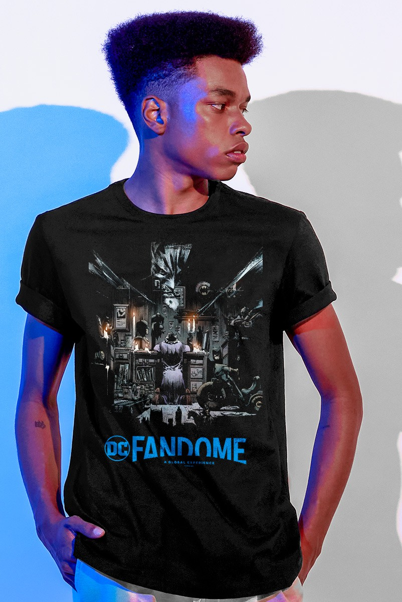 Camiseta Masculina Fandome Batman: White Knight Nº 2