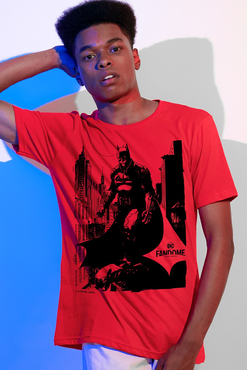 Camiseta Masculina Fandome Jim Lee Batman