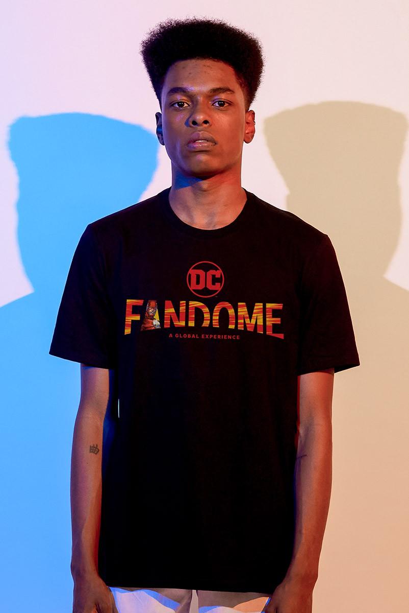 Camiseta Masculina Fandome Logo The Flash