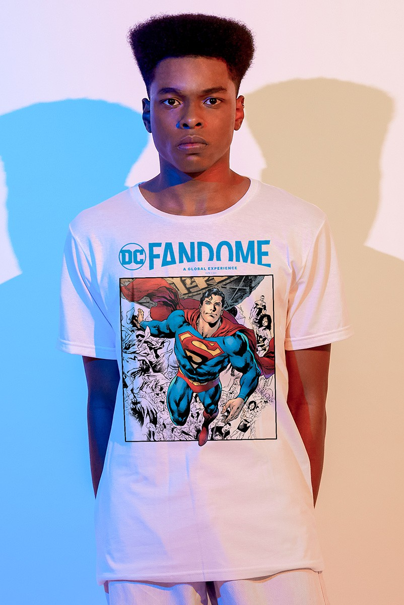 Camiseta Masculina Fandome Superman