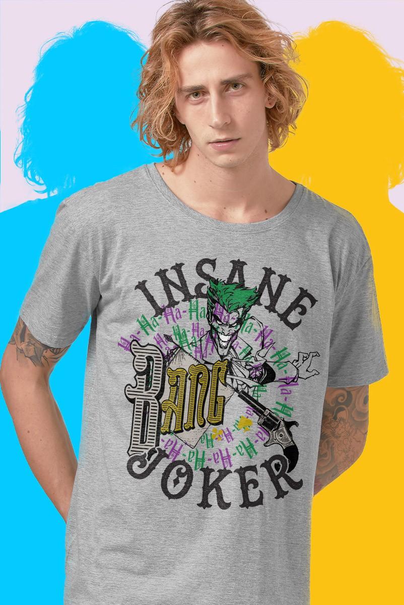 Camiseta Masculina Joker Insane Joker