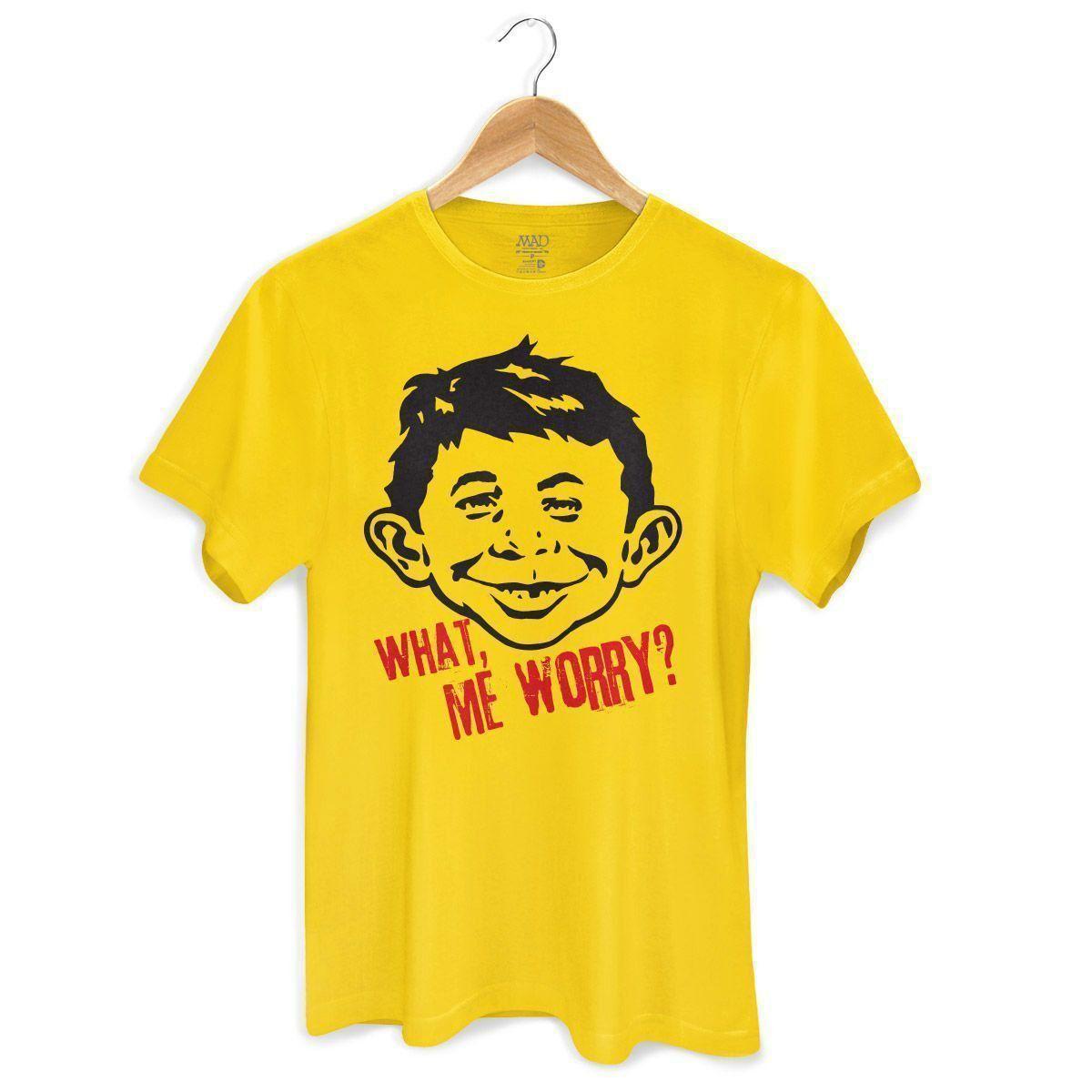 Camiseta Masculina MAD What, Me Worry? 3