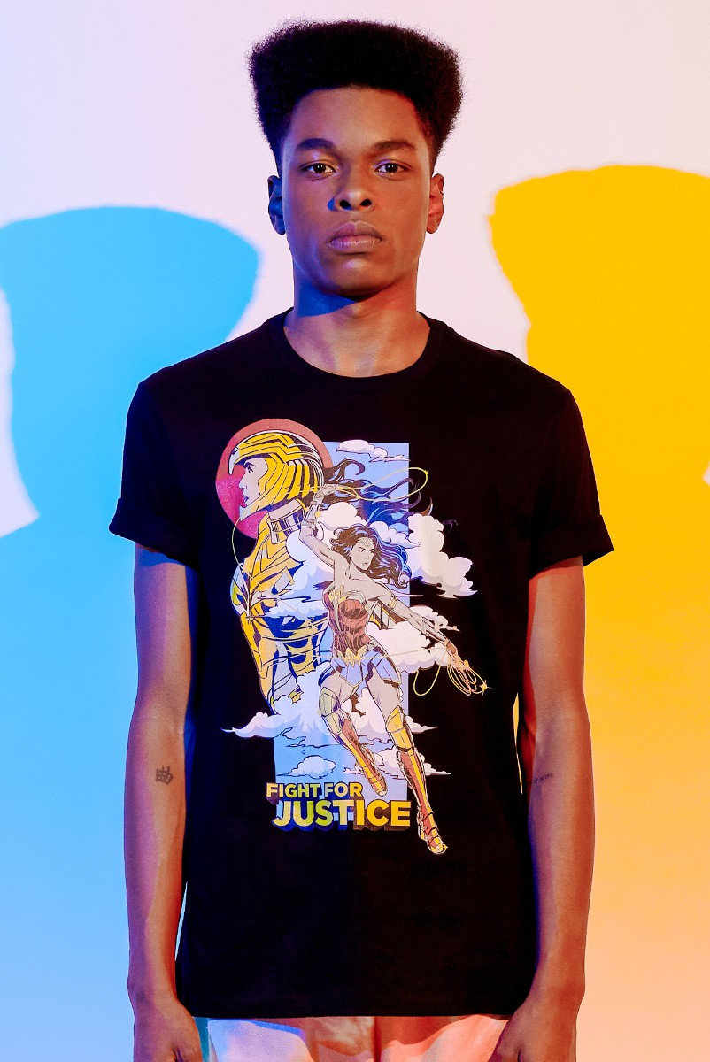 Camiseta Masculina Mulher Maravilha 1984 Fight For Justice