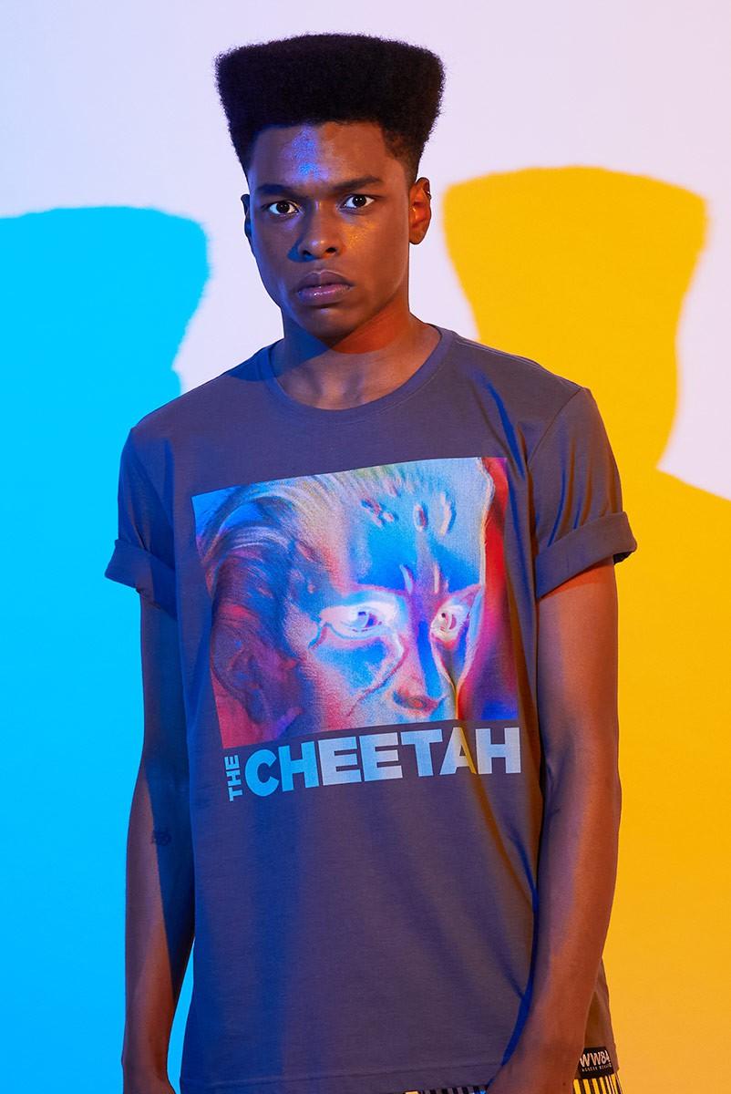 Camiseta Masculina Mulher Maravilha 1984 The Cheetah!