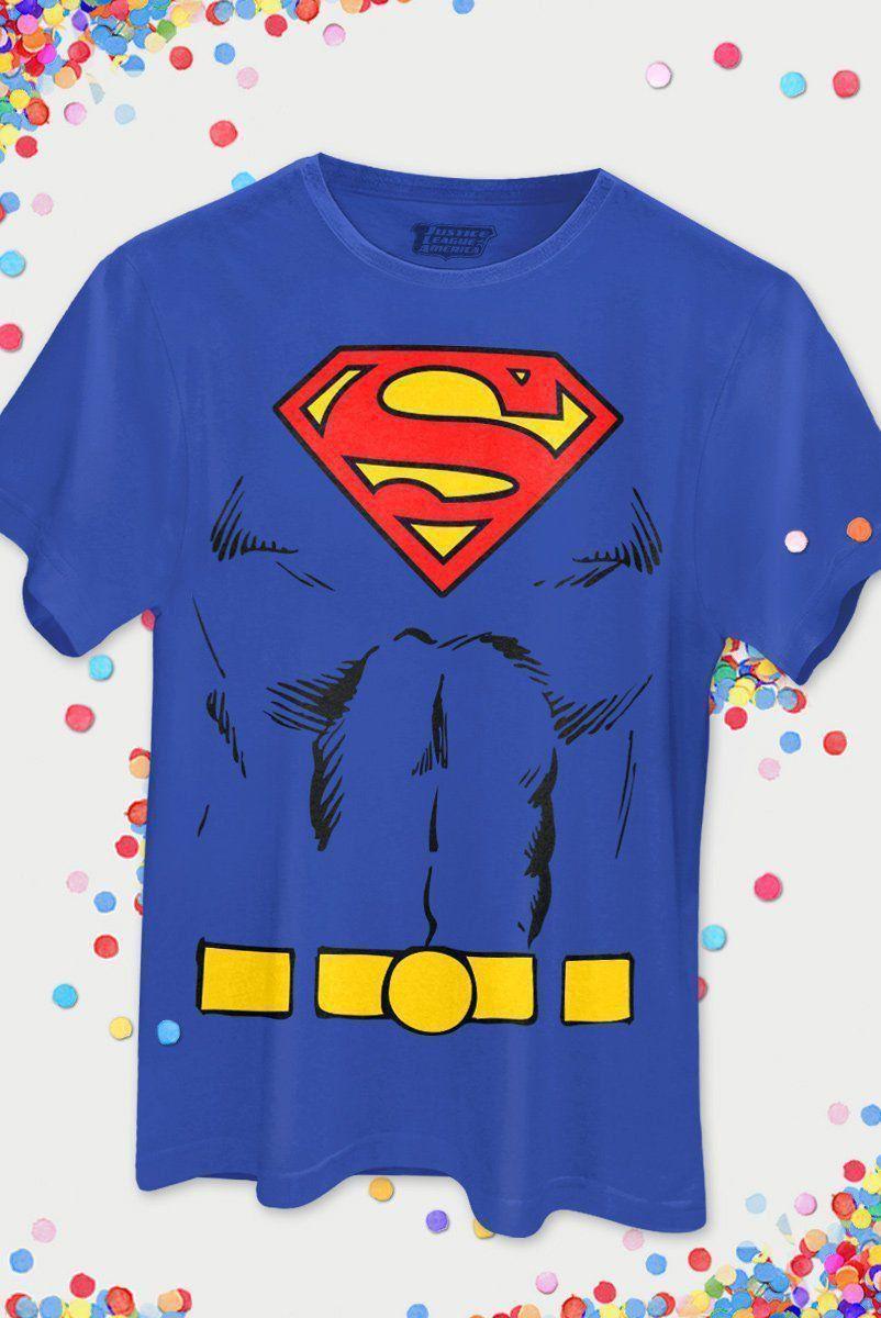 Camiseta Masculina Superman Body