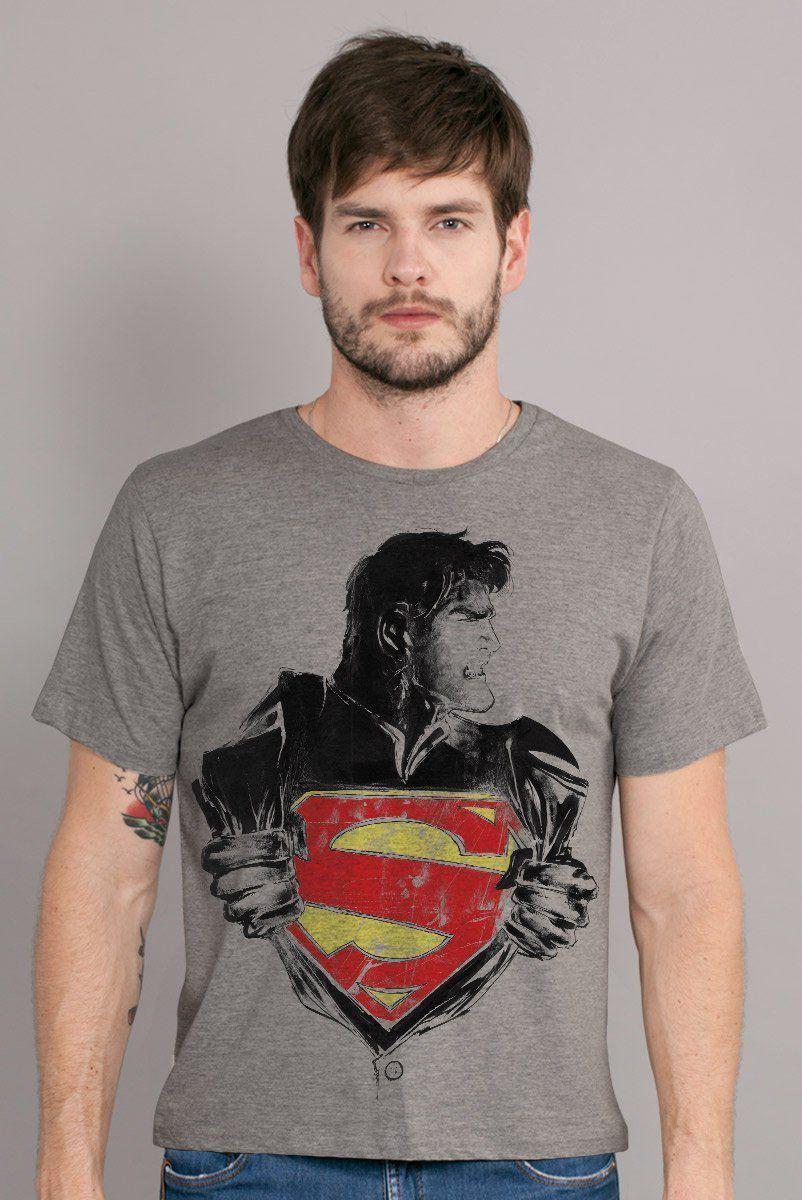 Camiseta Masculina Superman Clothes