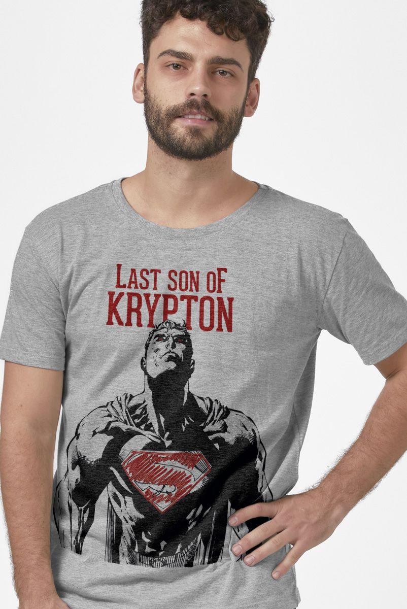 Camiseta Masculina Superman Last Son of Krypton