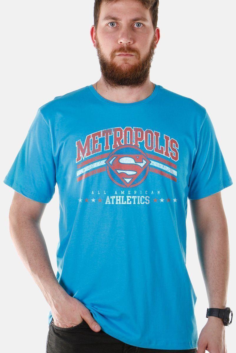 Camiseta Masculina Superman Metropolis All American Athletics