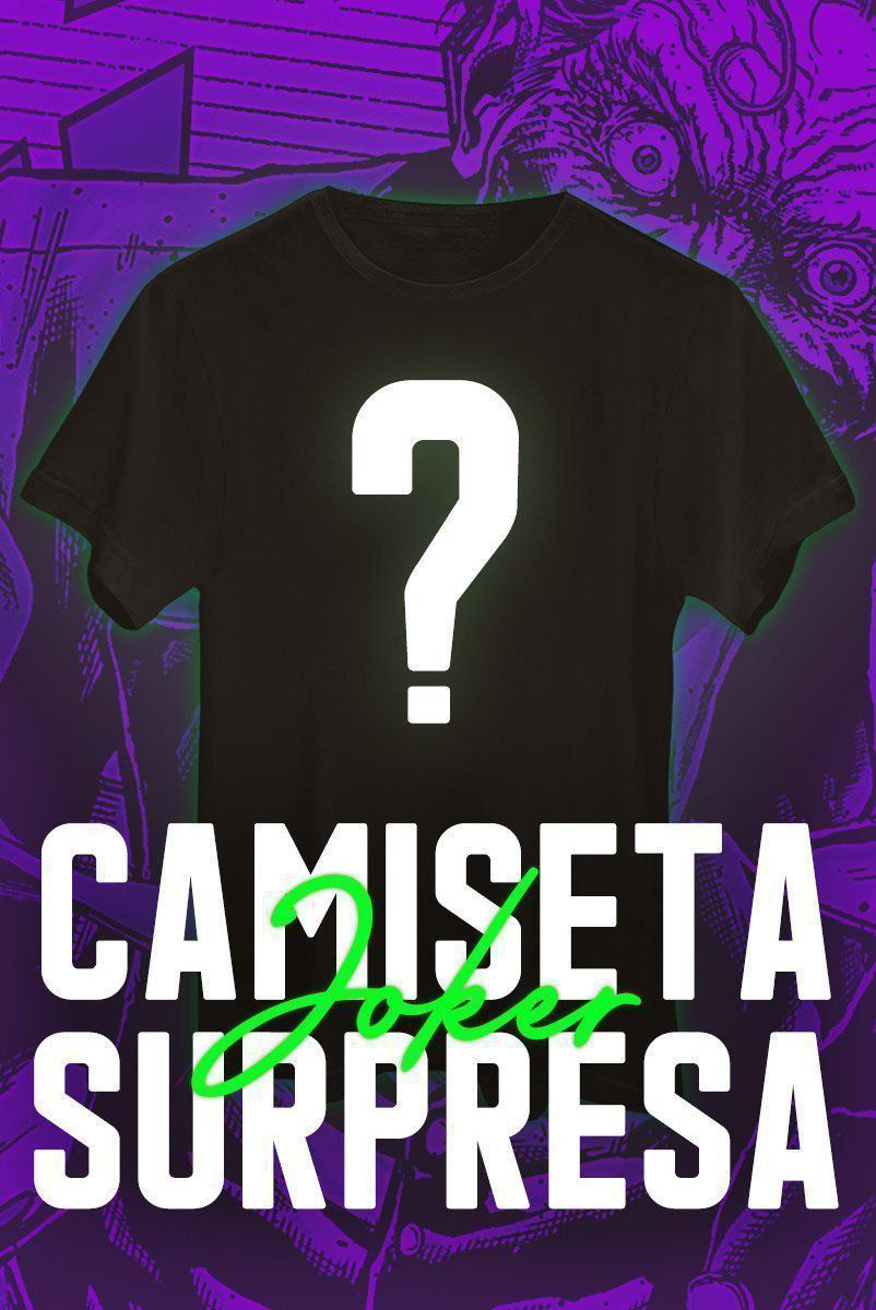 Camiseta Masculina SURPRESA Coringa
