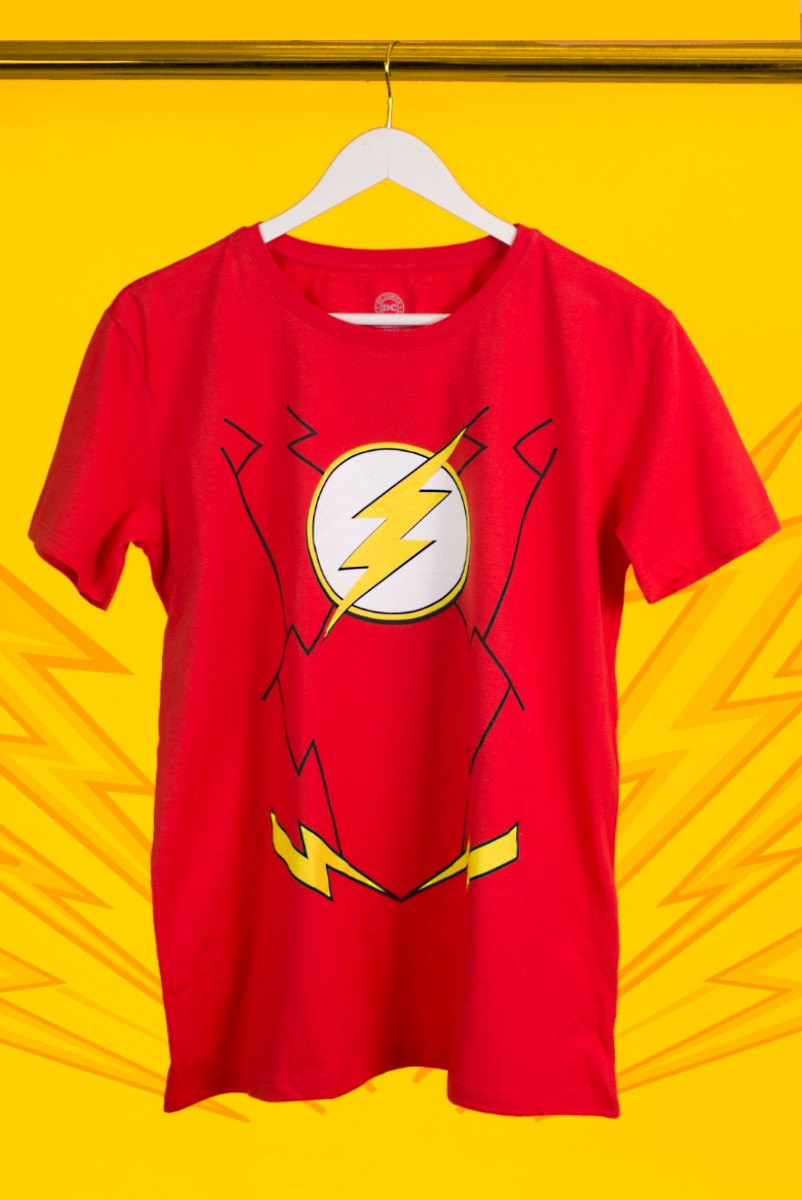 Camiseta Masculina The Flash Costume
