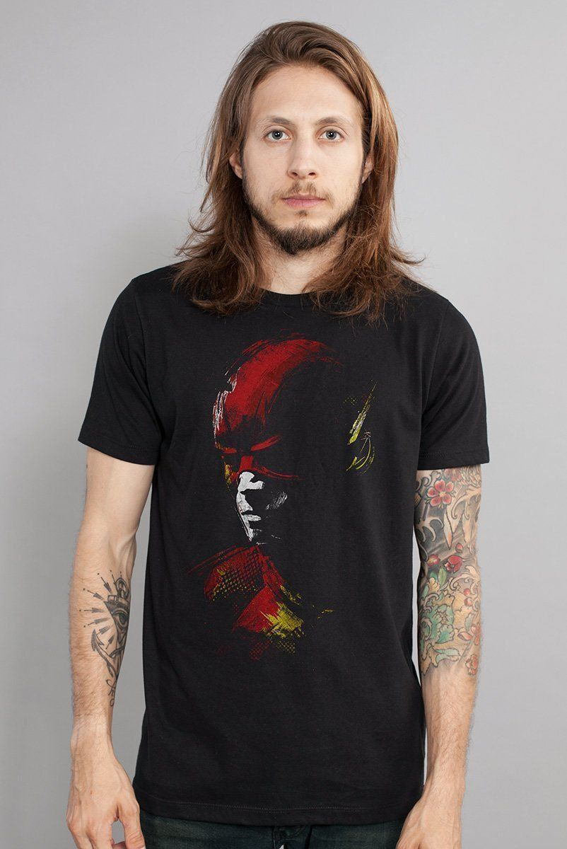 Camiseta Unissex The Flash Tracing