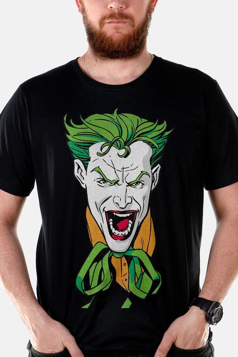 Camiseta Masculina Coringa Risada