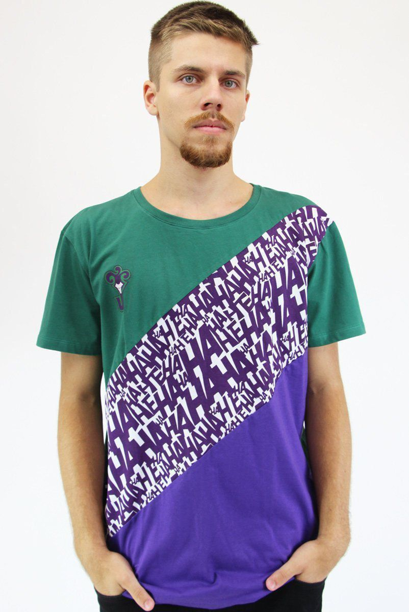 Camiseta Masculina The Joker HAHA Classic