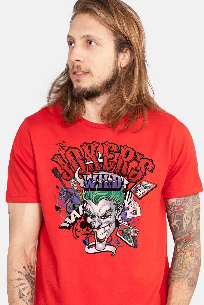 Camiseta Masculina The Joker Wild