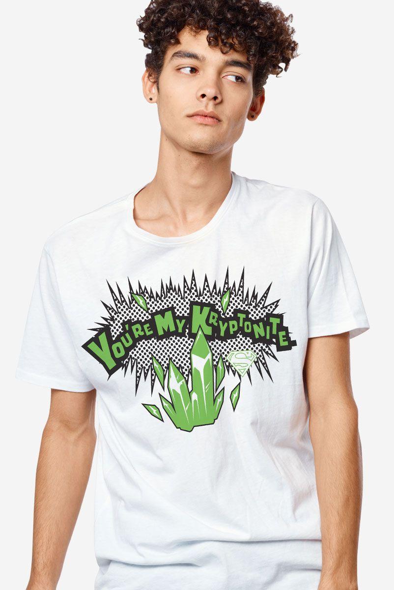 Camiseta Masculina Você é minha Kriptonita